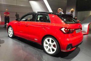 Новый Ауди A1 Sportback