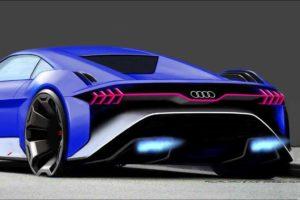 Концептуальный автомобиль Audi RSQ e-tron