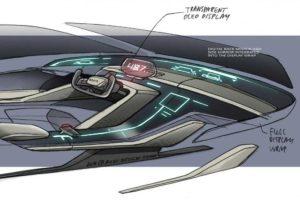 Концептуальный автомобиль Ауди RSQ e-tron