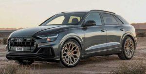 Колесные диски Vossen на Audi Q8 2019
