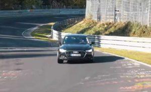 Фотошпионы засекли новый Audi RS7 Sportback