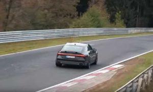 Audi RS7 Sportback был замечен в Нюрнбуринге