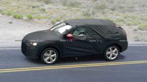 Шпионские фото Audi Q4 2020