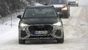 Фотошпионы засняли будущий Audi RS Q3 2020