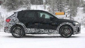 Будущий автомобиль Audi RS Q3 2020