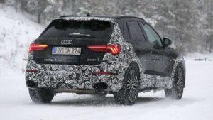 Фотошпионы засняли будущий кроссовер Audi RS Q3 2020