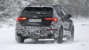 Появились фото Audi RS Q3 2020 в камуфляже