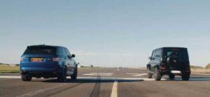 Range Rover Sport SVR и Mercedes-AMG G63