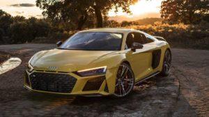Появился небольшой видеообзор Audi R8 V10 Performance 2019