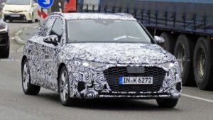 Появились фото будущего хэтчбека Audi A3