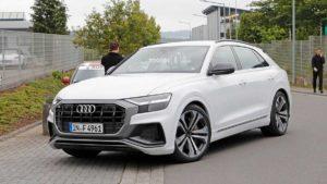 В сети появились фото Audi SQ8