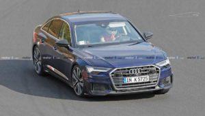 Audi S6 был замечен без камуфляжа