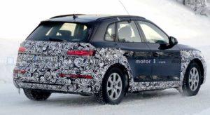 Испытания Audi Q5 2021