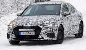 Седан Audi A3 2021 заметили в Швеции
