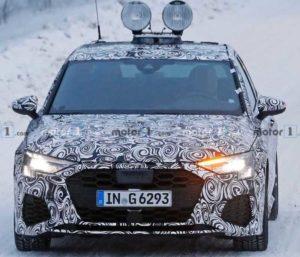 Автомобиль Audi S3 засветился на тестах