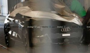 Audi A3 засветился без камуфляжа