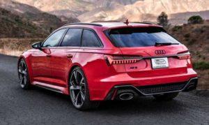 Новое видео Audi RS6 Avant 2021