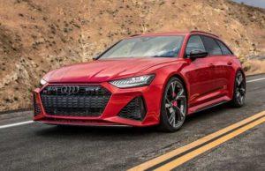 Тест на скорость Audi RS6 Avant