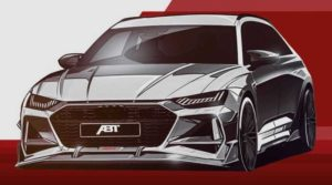 Будущий Audi RS6 Avant 2021 от ABT