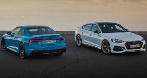 Появились фотографии рестайлинговых Audi RS5 Coupe и RS5 Sportback