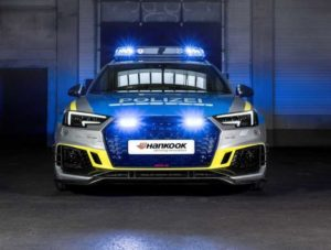 Полицейский Audi RS4 Avant от ABT