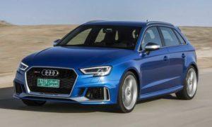 Audi RS3 появится в 2020 году в гибридном исполнении
