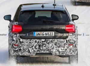 Вид сзади Audi Q2