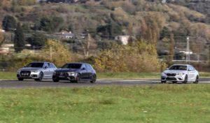 BMW M2 Competition, Audi RS3, Mercedes-AMG A45 S соревновались в скорости на взлетной полосе