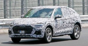 В сети появились снимки Audi Q5 Sportback 2021